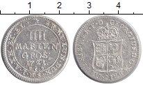Изображение Монеты Ганновер 4 марьенгрош 1721 Серебро XF
