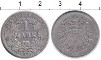 Изображение Монеты Германия 1 марка 1875 Серебро XF С