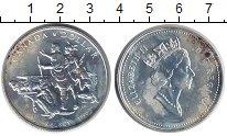 Изображение Монеты Канада 1 доллар 1990 Серебро UNC-
