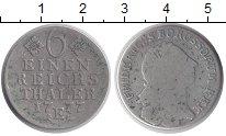 Изображение Монеты Германия Пруссия 1/6 талера 1777 Серебро VF