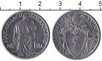 Изображение Монеты Ватикан 50 сентесимо 1942 Сталь XF