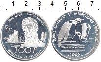 Изображение Монеты Франция 100 франков 1992 Серебро Proof