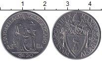 Изображение Монеты Ватикан 20 сентим 1942 Сталь UNC-