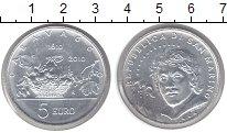 Изображение Монеты Сан-Марино 5 евро 2010 Серебро UNC