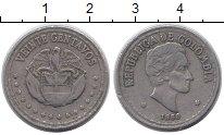 Изображение Монеты Колумбия 20 сентаво 1956 Медно-никель XF