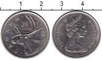 Изображение Монеты Канада 25 центов 1976 Медно-никель XF