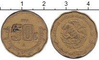 Изображение Монеты Мексика 50 сентаво 1993 Латунь XF