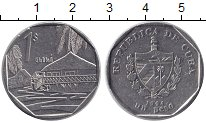 Изображение Монеты Куба 1 песо 1994 Медно-никель XF