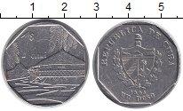 Изображение Монеты Куба 1 песо 1994 Медно-никель XF Хижина