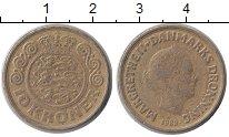 Изображение Монеты Дания 10 крон 1989 Латунь XF