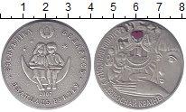 Изображение Монеты Беларусь 20 рублей 2007 Серебро UNC- Приключения Алисы в
