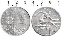 Изображение Монеты Финляндия 50 марок 1988 Серебро UNC Первый чемпионат мир