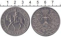 Изображение Монеты Великобритания 25 пенсов 1977 Медно-никель UNC-