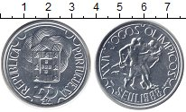 Изображение Монеты Португалия 250 эскудо 1988 Серебро UNC XXIV летние Олимпийс