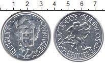 Изображение Монеты Португалия 250 эскудо 1988 Серебро UNC XXIV Олимпиада. Сеул