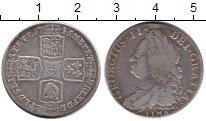 Изображение Монеты Великобритания 1 шиллинг 1745 Серебро XF