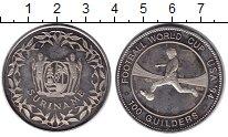 Изображение Монеты Суринам 100 гульденов 1994 Медно-никель Proof- Чемпионат мира по фу