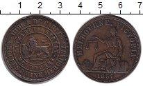 Изображение Монеты Австралия 1 пенни 1857 Бронза XF
