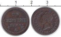 Изображение Монеты Франция 1 сантим 0 Медь VF