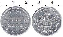 Изображение Монеты Гамбург 200 000 марк 1923 Алюминий XF