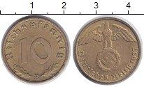 Изображение Монеты Третий Рейх 10 пфеннигов 1937 Латунь XF