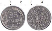 Изображение Монеты Пруссия 25 пфеннигов 1911 Медно-никель XF