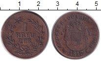 Изображение Монеты Баден 1 крейцер 1817 Медь XF