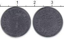 Изображение Монеты Третий Рейх 1 пфенниг 1945 Цинк VF