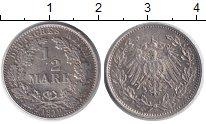 Изображение Монеты Германия 1/2 марки 1919 Медно-никель XF