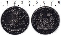 Изображение Монеты Сьерра-Леоне 10 долларов 2008 Серебро Proof-