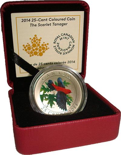 Изображение Подарочные наборы Канада Птица 2014 Медно-никель Proof