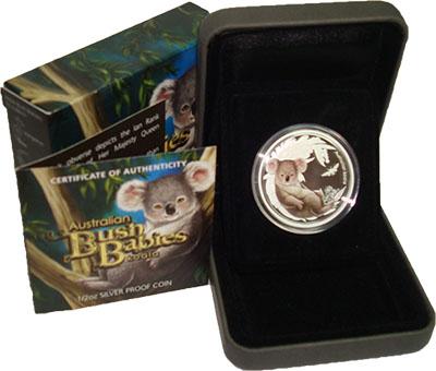 Изображение Подарочные наборы Австралия Зверята Австралийского буша 2011 Серебро Proof