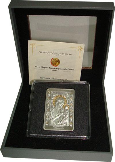Изображение Подарочные наборы Беларусь Икона Пресвятой Богородицы Иверская 2013 Серебро Proof