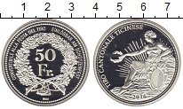 Изображение Монеты Швейцария 50 франков 2016 Серебро Proof-