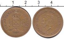Изображение Монеты Антильские острова 1 гульден 1991  XF