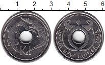 Изображение Монеты Папуа-Новая Гвинея 1 кина 2005 Медно-никель XF