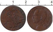 Изображение Монеты Италия 2 сентесимо 1915 Медь XF