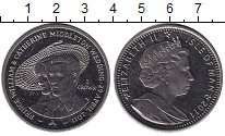Изображение Монеты Великобритания Остров Мэн 1 крона 2011 Медно-никель XF