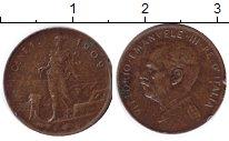 Изображение Монеты Италия 1 сентесимо 1909 Медь XF