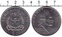 Изображение Монеты Самоа 1 доллар 1970 Медно-никель XF