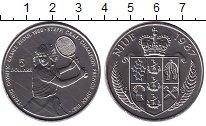 Изображение Монеты Ниуэ 5 долларов 1987 Медно-никель UNC