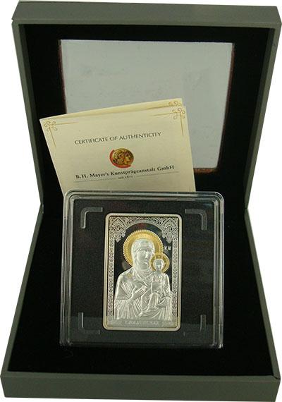 Изображение Подарочные монеты Беларусь Чудотворные иконы 2010 Серебро Proof