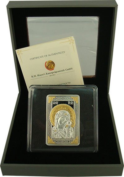 Изображение Подарочные монеты Беларусь Чудотворные иконы 2011 Серебро Proof