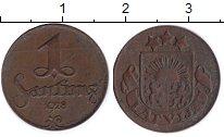 Изображение Монеты Латвия 1 сантим 1928 Бронза XF