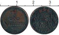 Изображение Монеты Латвия 1 сантим 1935 Бронза XF-
