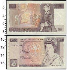 Изображение Банкноты Великобритания 10 фунтов 1988  UNC-