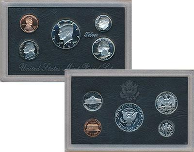 Изображение Подарочные наборы США Набор 1992 года 1992  Proof В набор входят пять