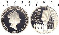 Изображение Монеты Острова Питкэрн 2 доллара 2013 Серебро Proof Елизавета II.