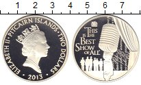 Изображение Монеты Острова Питкэрн 2 доллара 2013 Серебро Proof