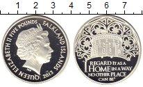 Изображение Монеты Фолклендские острова 5 фунтов 2013 Серебро Proof